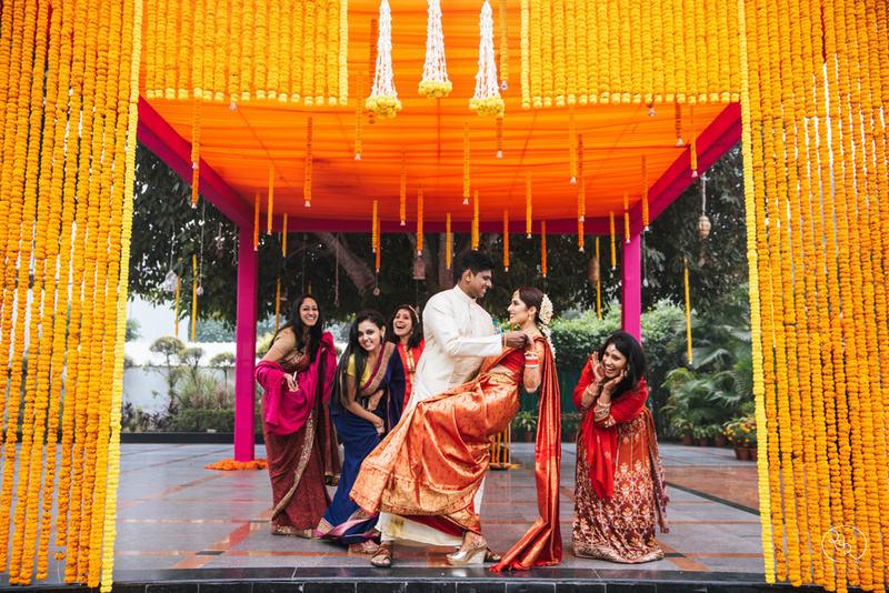 sanjana & sanjeev!:country inn and suites, lakshya manwani photography, om parkash jawahar lal, isha khanna makeup artist
