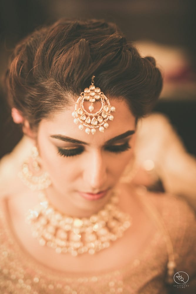 the ethereal bride!:country inn and suites, lakshya manwani photography, om parkash jawahar lal, isha khanna makeup artist