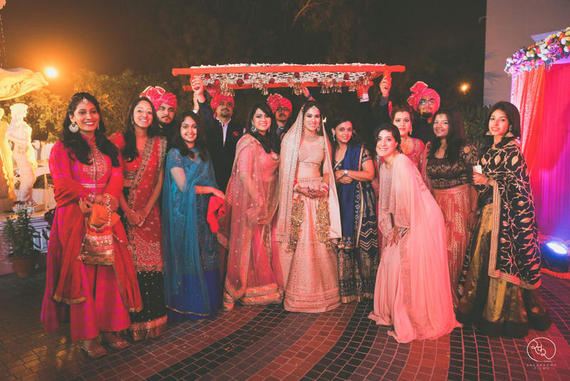 the perfect group click!:country inn and suites, lakshya manwani photography, om parkash jawahar lal, isha khanna makeup artist
