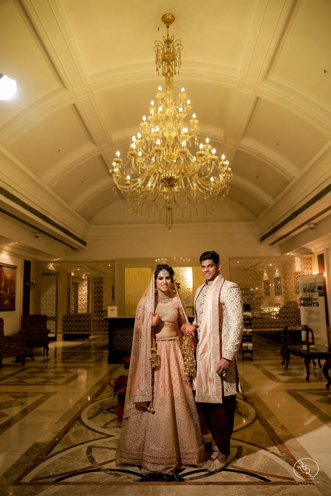 the royal couple!:country inn and suites, lakshya manwani photography, om parkash jawahar lal, isha khanna makeup artist
