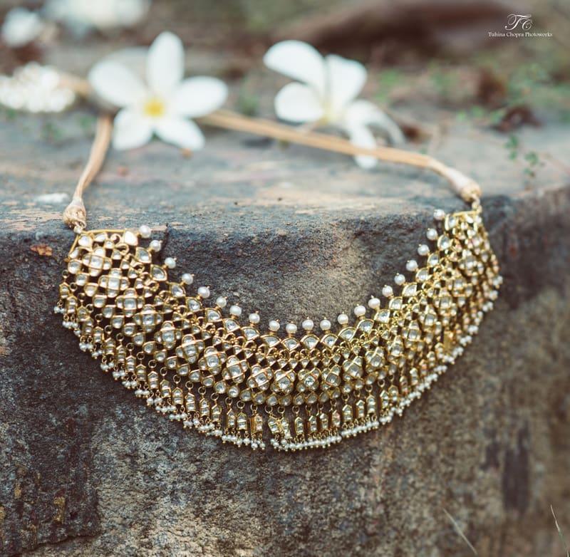 the wedding jewels!:tuhina chopra photoworks, the powder room, anita dongre