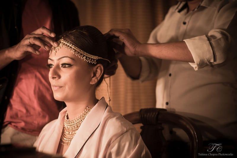the cute bride!:tuhina chopra photoworks, the powder room, anita dongre