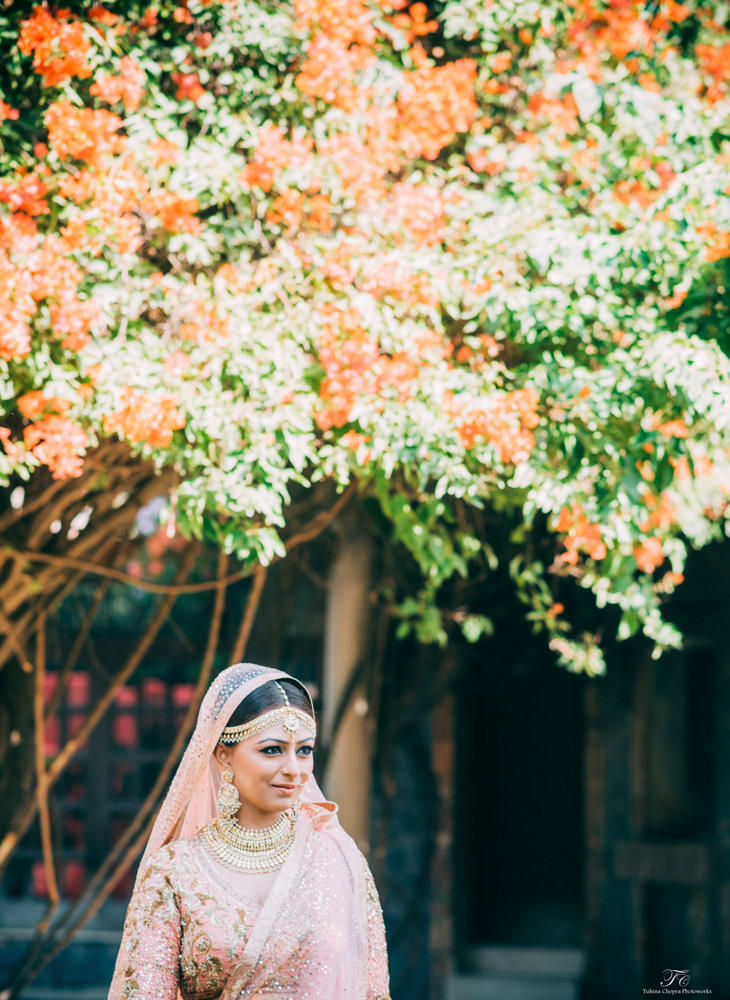 the royal bride!:tuhina chopra photoworks, the powder room, anita dongre