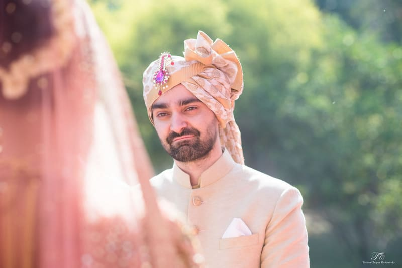 the groom ritchie!:tuhina chopra photoworks, the powder room, anita dongre