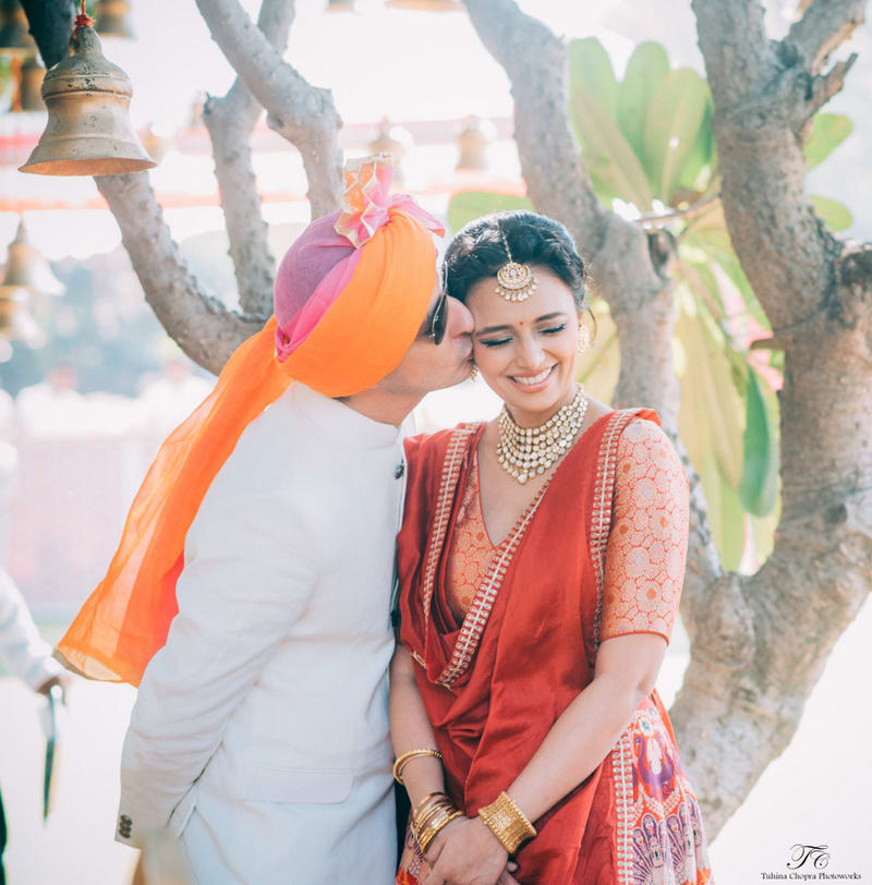 the celebrity wedding!:tuhina chopra photoworks, the powder room, anita dongre