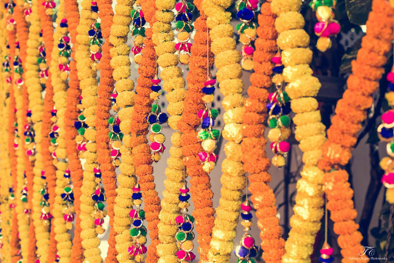 the wedding decoration ideas!:tuhina chopra photoworks, the powder room, anita dongre