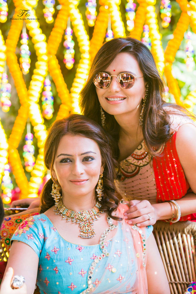 the bride deeya!:tuhina chopra photoworks, the powder room, anita dongre