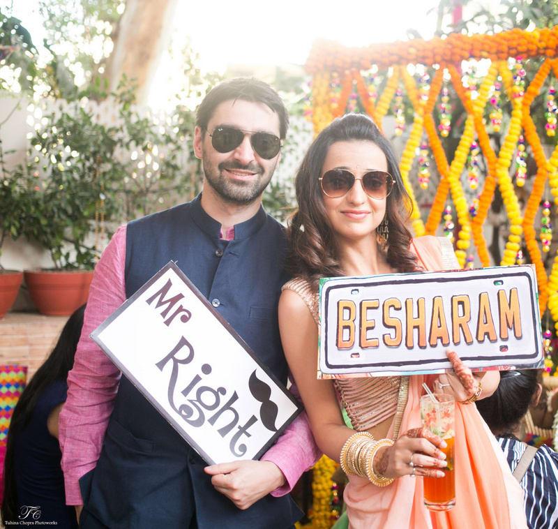 the celebrity wedding!:tuhina chopra photoworks, the powder room, anita dongre
