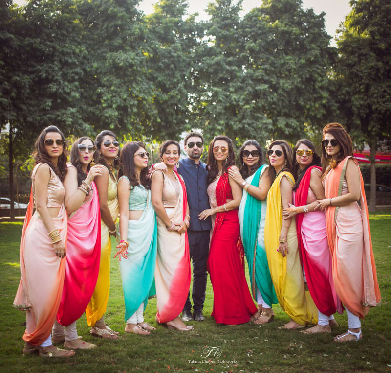 the grand wedding!:tuhina chopra photoworks, the powder room, anita dongre