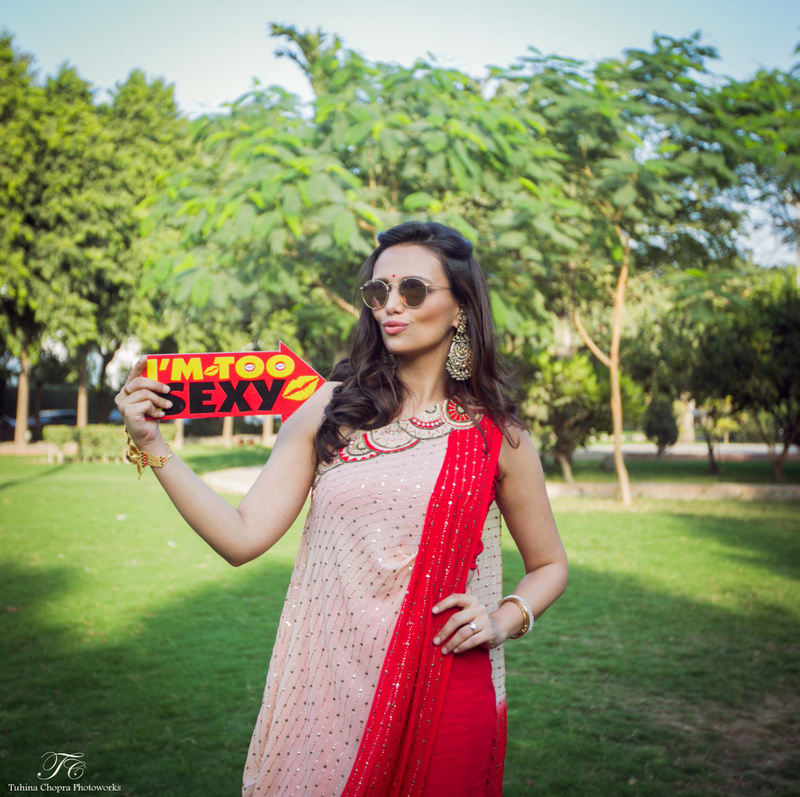 the gorgeous roshni chopra!:tuhina chopra photoworks, the powder room, anita dongre
