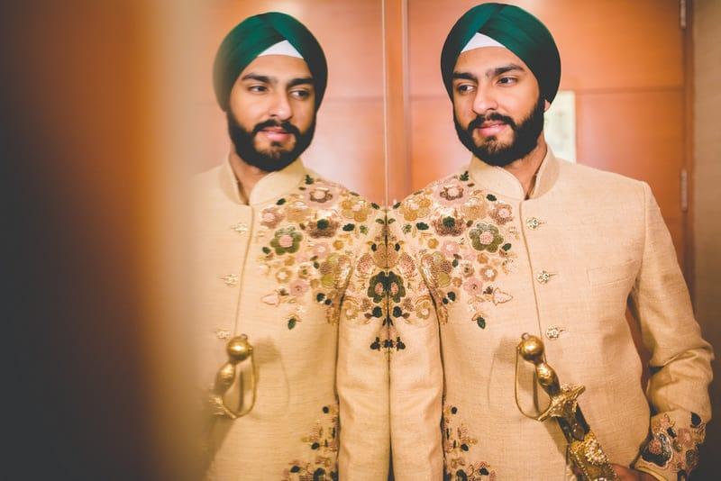 the royal groom!:raju mehandi arts, the piccadily, mahima bhatia photography, sabyasachi couture pvt ltd, qbik, falguni and shane peacock