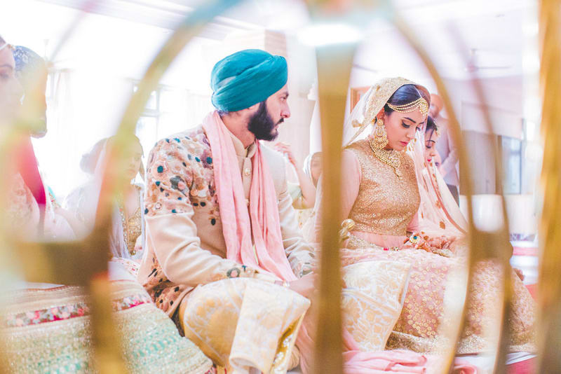the wedding ceremony!:raju mehandi arts, the piccadily, mahima bhatia photography, sabyasachi couture pvt ltd, qbik, falguni and shane peacock