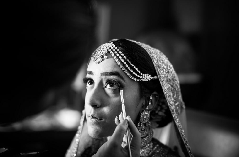 the make up shots!:raju mehandi arts, the piccadily, mahima bhatia photography, sabyasachi couture pvt ltd, qbik, falguni and shane peacock