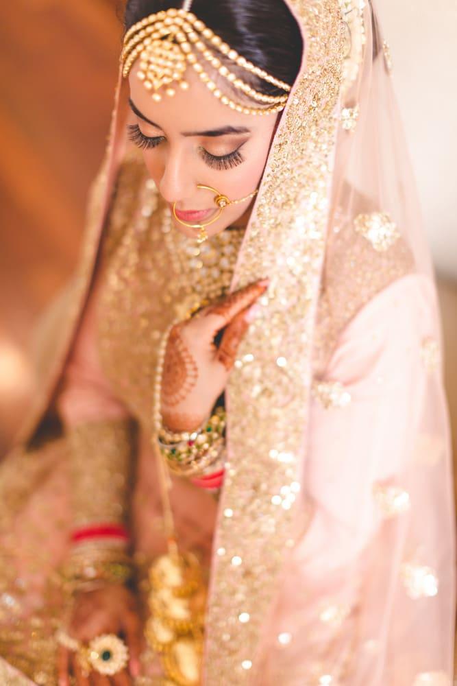 the charming bride!:raju mehandi arts, the piccadily, mahima bhatia photography, sabyasachi couture pvt ltd, qbik, falguni and shane peacock