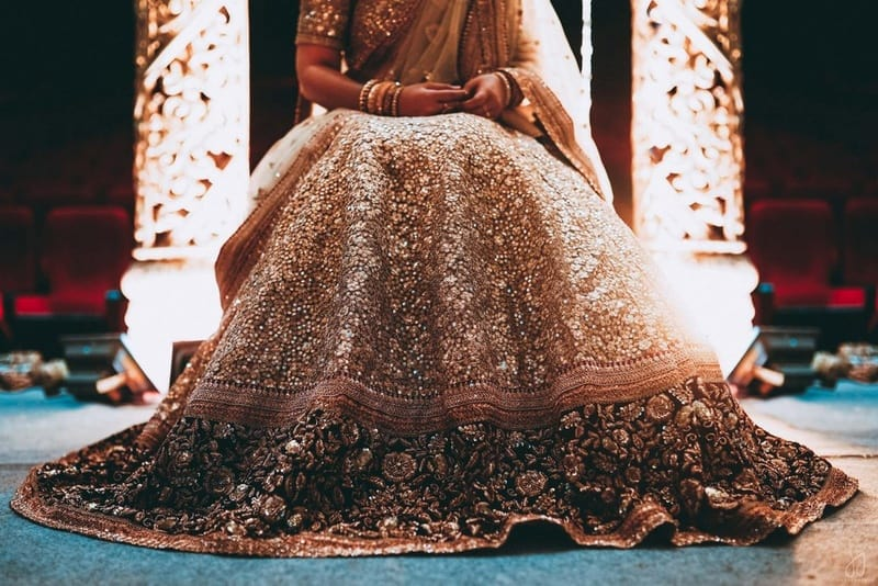 the lehenga shot!:malabar gold and diamonds, shyamal and bhumika, sabyasachi couture pvt ltd