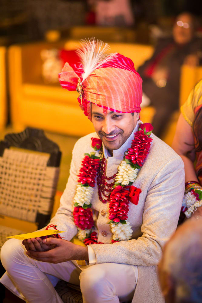 the handsome groom!:avnish dhoundiyal photography, varun bahl, rani pink