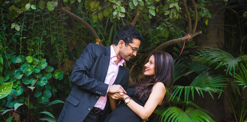 the perfect couple!:avnish dhoundiyal photography, varun bahl, rani pink
