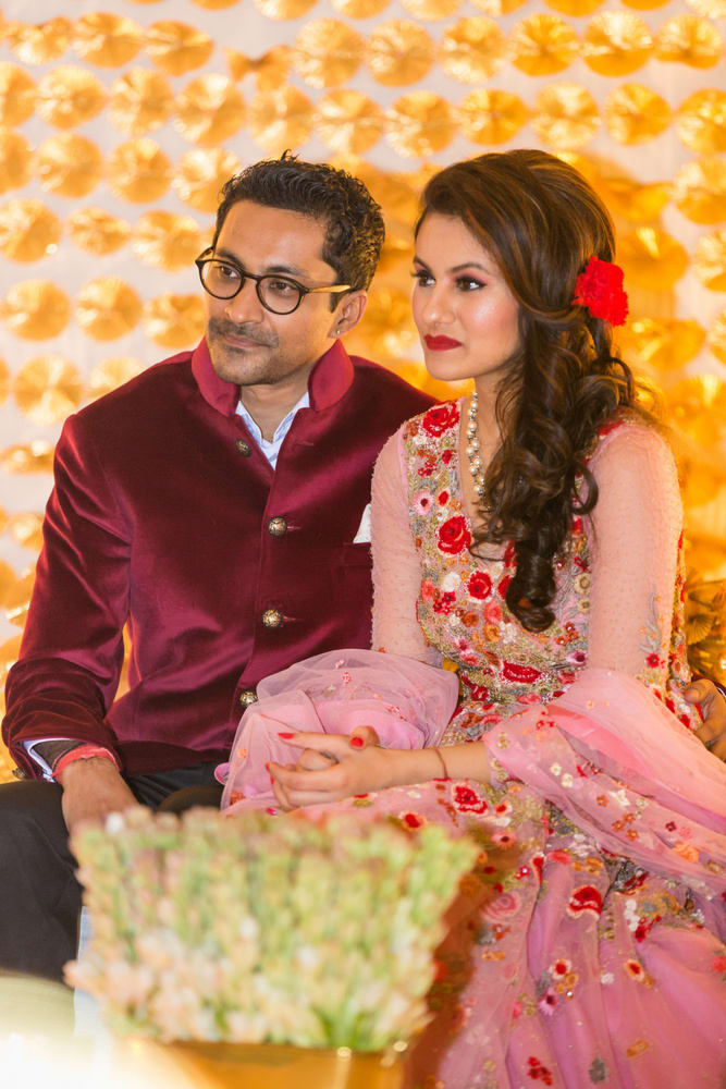 made for each other!:avnish dhoundiyal photography, varun bahl, rani pink