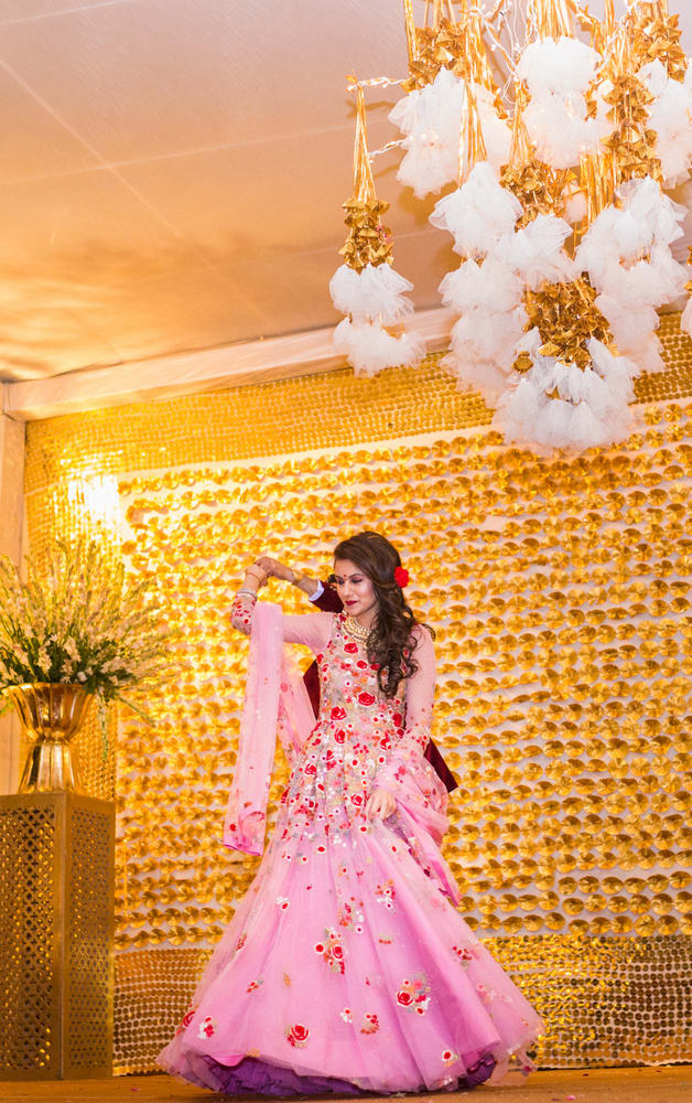 the gorgeous bride!:avnish dhoundiyal photography, varun bahl, rani pink