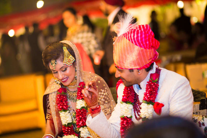 the lovebirds!:avnish dhoundiyal photography, varun bahl, rani pink