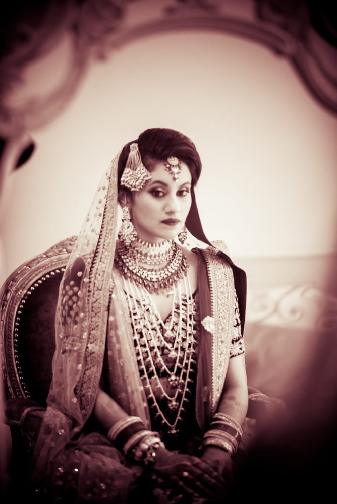 the stunning bride!:avnish dhoundiyal photography, varun bahl, rani pink