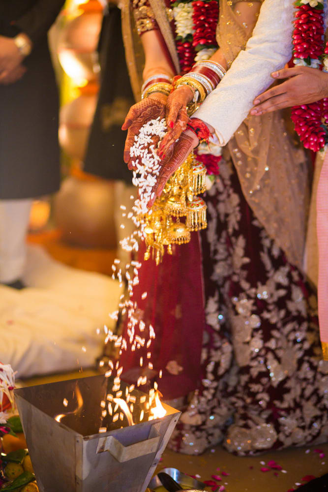 the wedding ceremony!:avnish dhoundiyal photography, varun bahl, rani pink