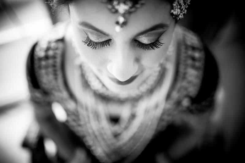the bridal makeup!:avnish dhoundiyal photography, varun bahl, rani pink