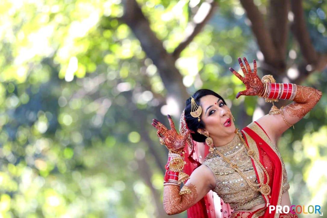 the pretty bride!: