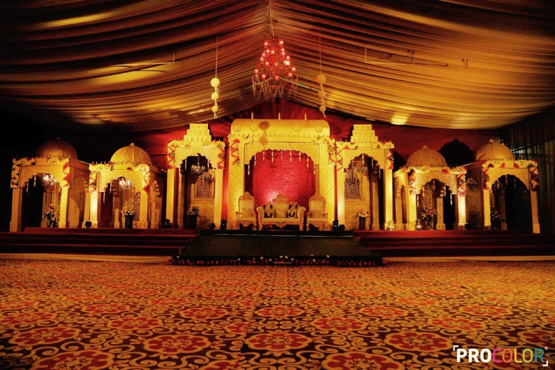 the wedding decoration!: