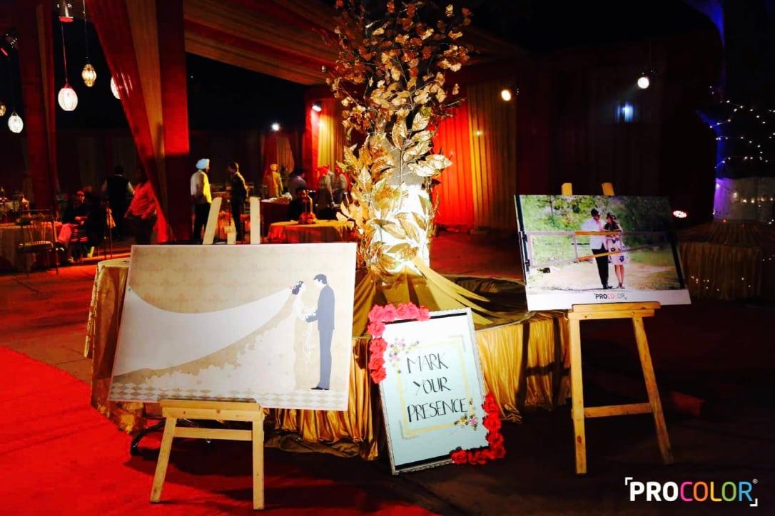 the wedding decor!: