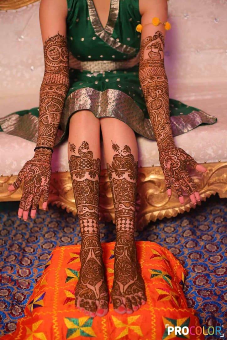 the mehandi ceremony!: