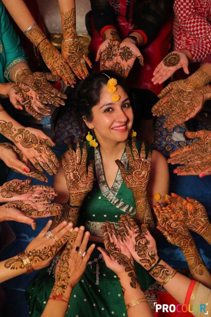 the mehandi ritual!: