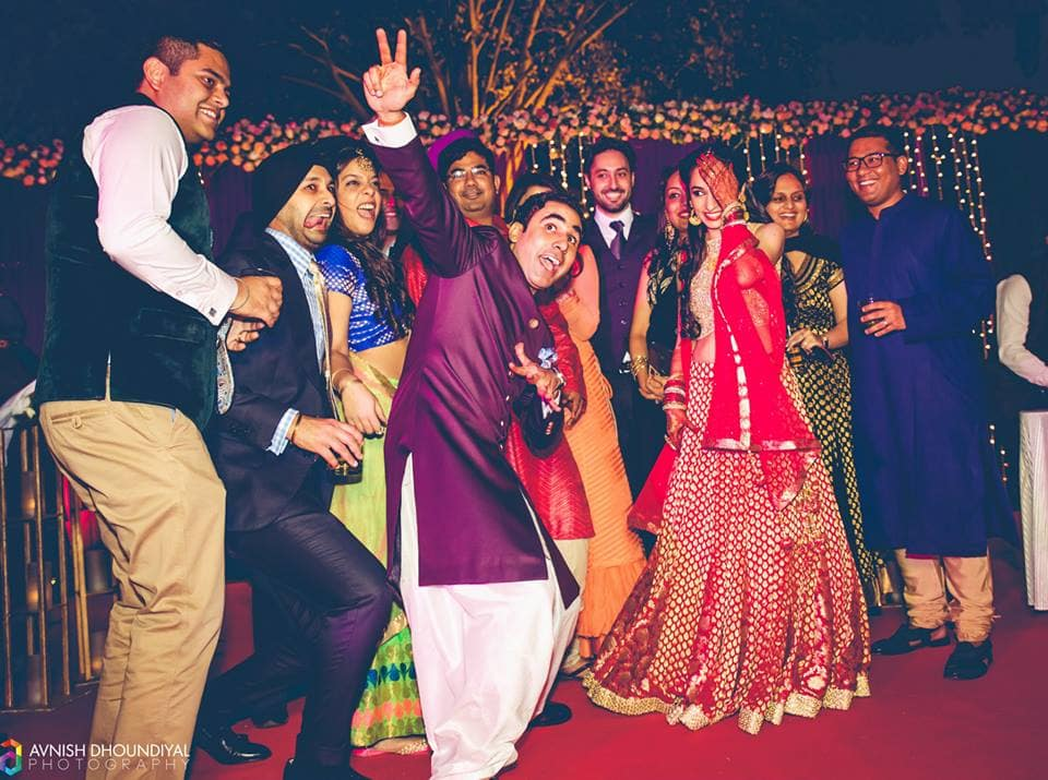 baraat dance:avnish dhoundiyal photography