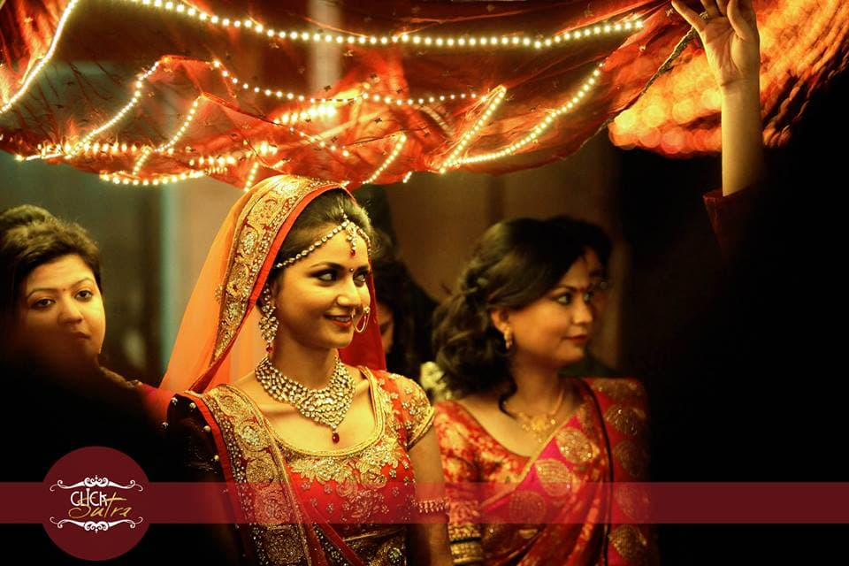 elegant bridal photography:click sutra