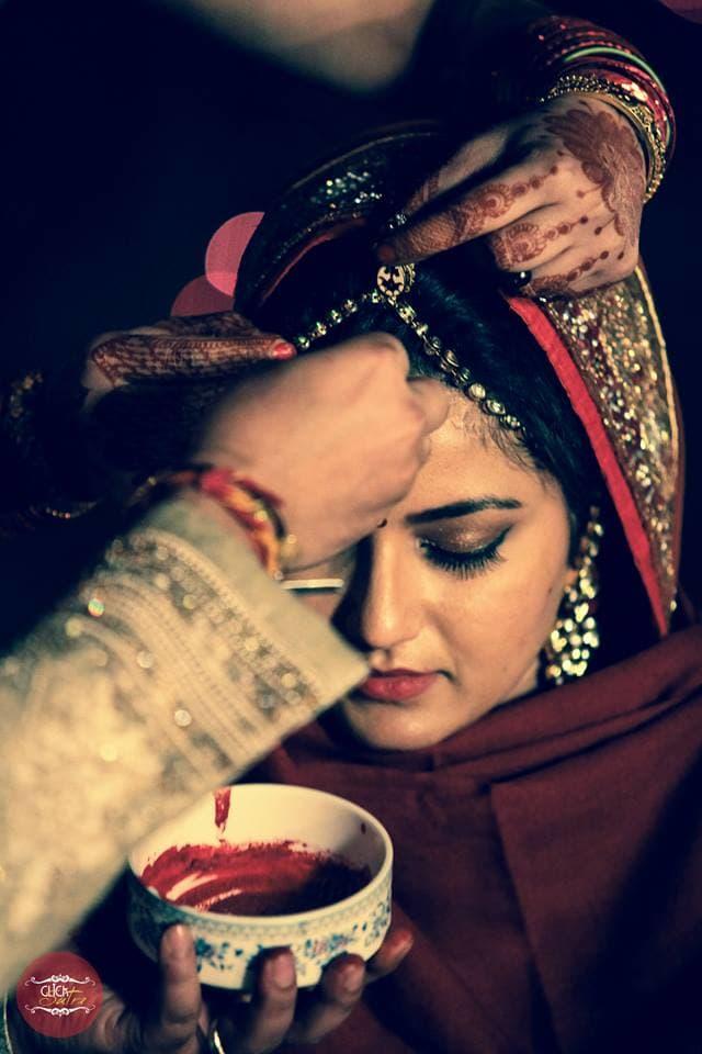 sindoor ceremony:click sutra