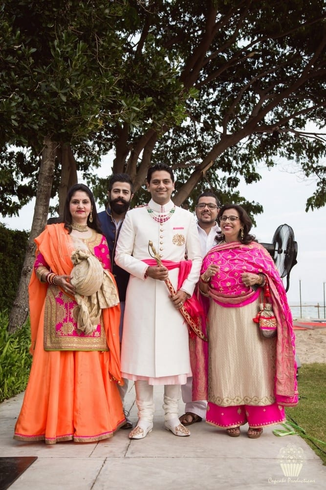 the handsome groom!:cupcake productions, manish malhotra, anju modi, sabyasachi couture pvt ltd