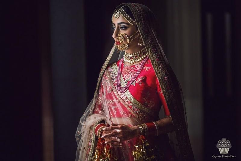 the elegant bride!:cupcake productions, manish malhotra, anju modi, sabyasachi couture pvt ltd