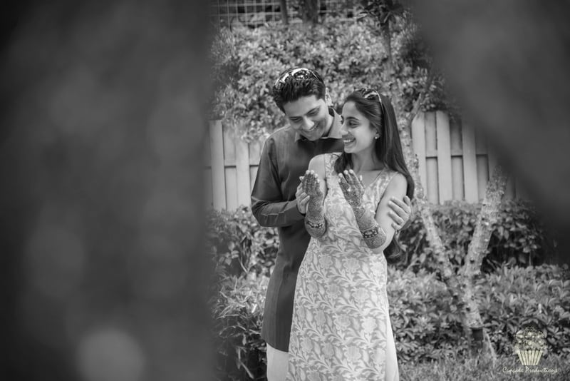 the bride & groom!:cupcake productions, manish malhotra, anju modi, sabyasachi couture pvt ltd