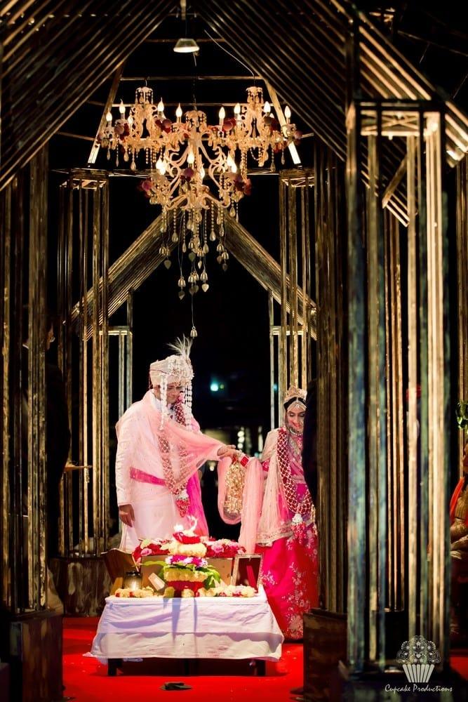 the wedding ceremony!:cupcake productions, manish malhotra, anju modi, sabyasachi couture pvt ltd