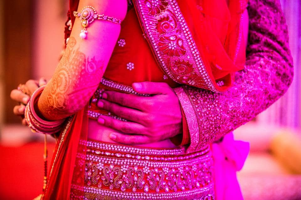 lovable wedding clicks:girl in pink photography