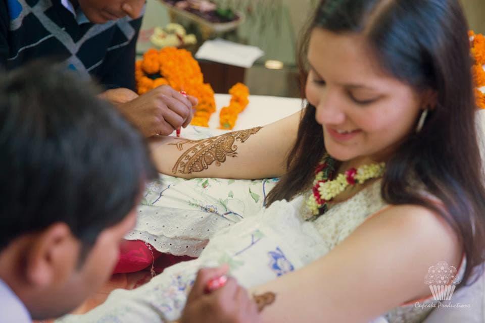 bridal mehndi photography:cupcake productions