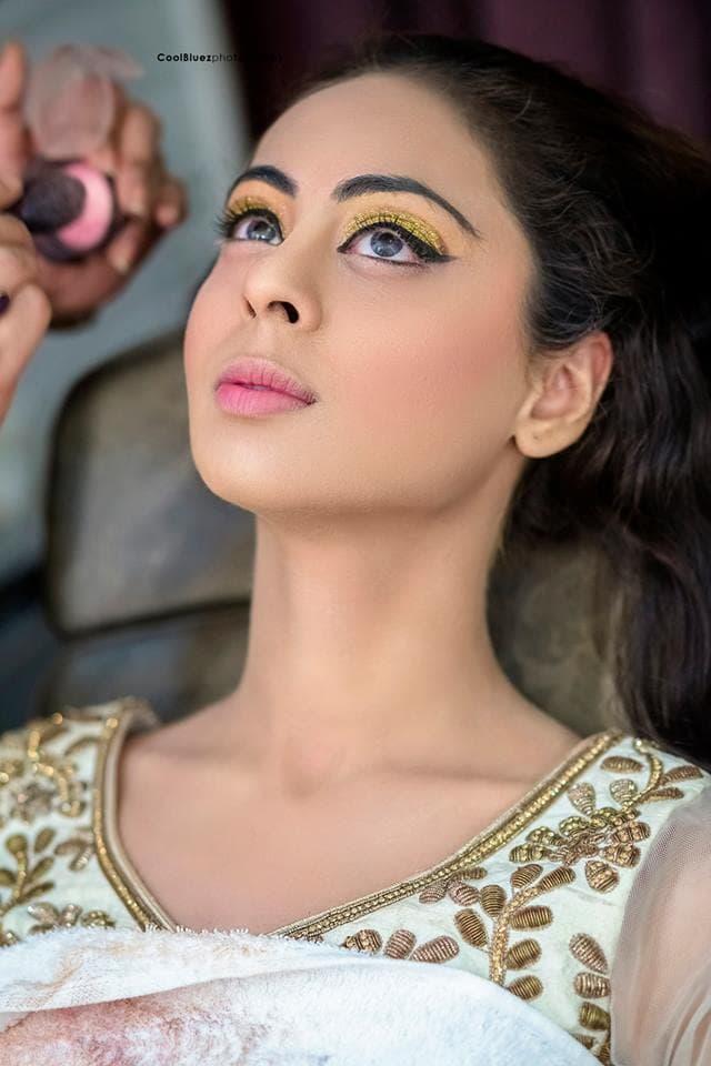 beautiful eye makeup:coolbluez photography