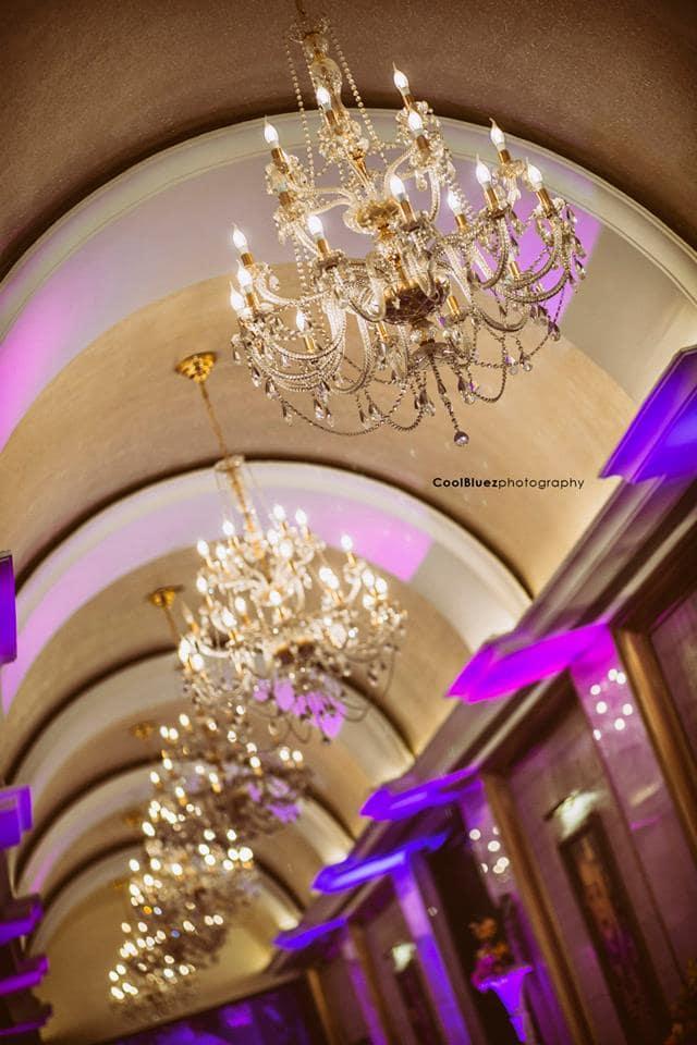 venue decoration:coolbluez photography