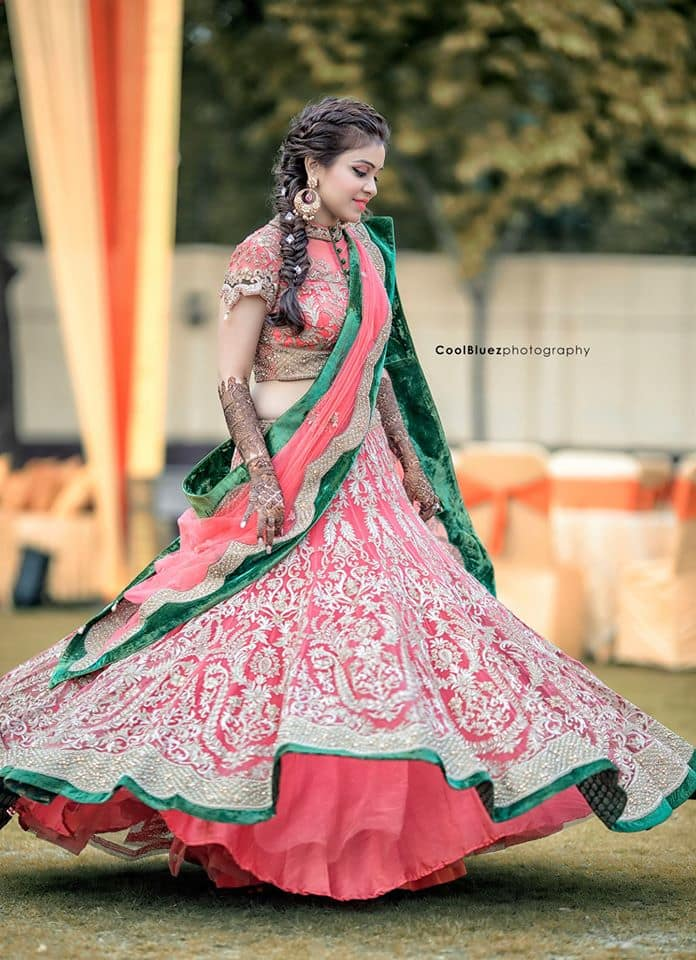 beautiful sangeet outfit:coolbluez photography