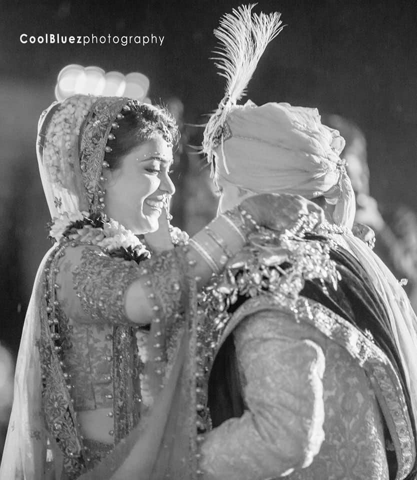 masti in varmala ceremony:coolbluez photography