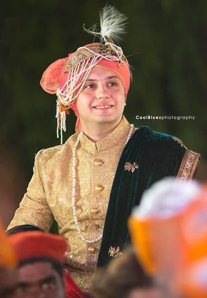 groom with turban:coolbluez photography