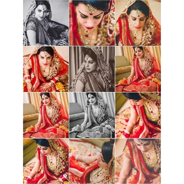 bride posing for beautiful clicks:kuntal mukherjee photography