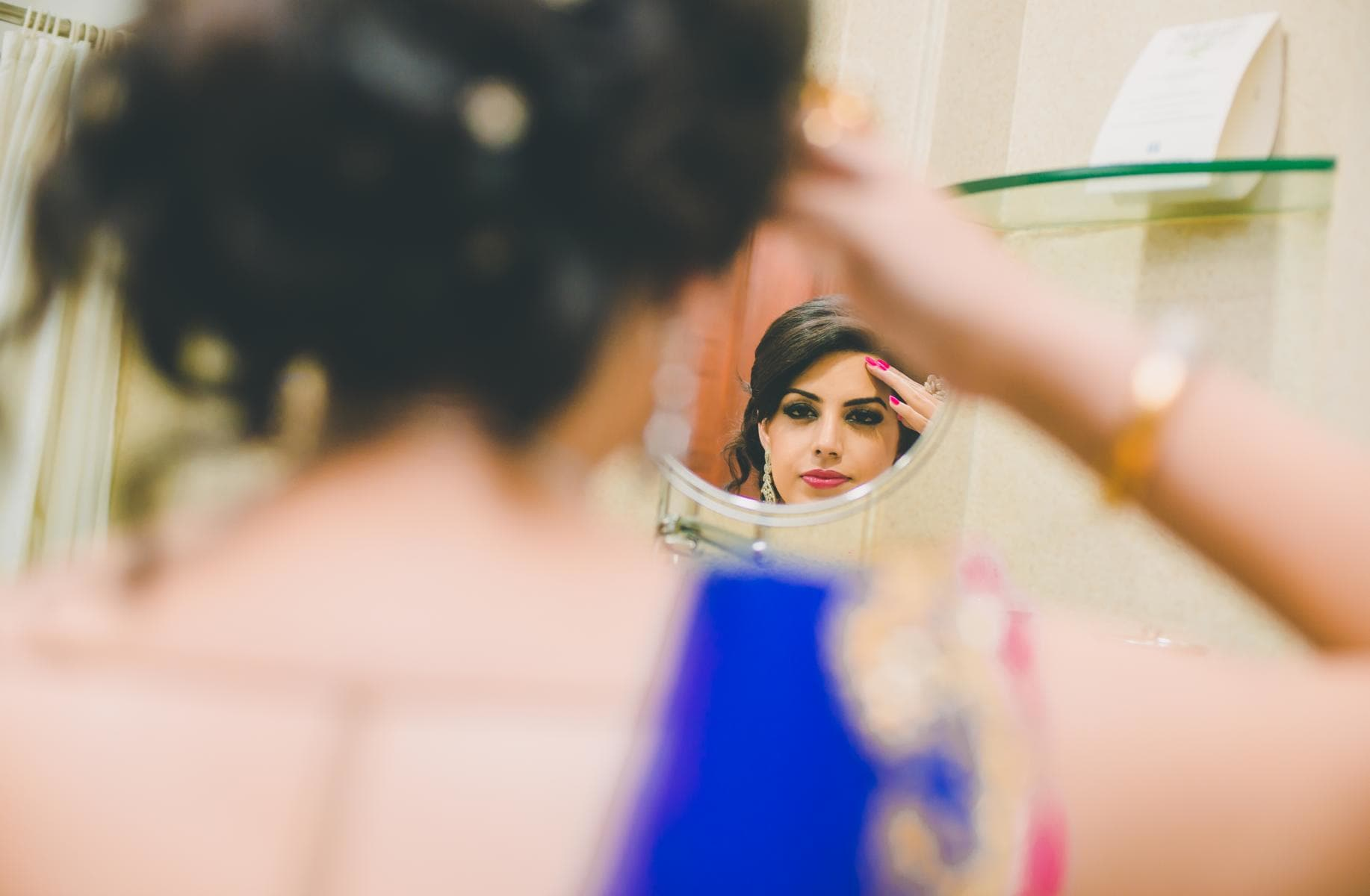 sangeet makeup:kuntal mukherjee photography