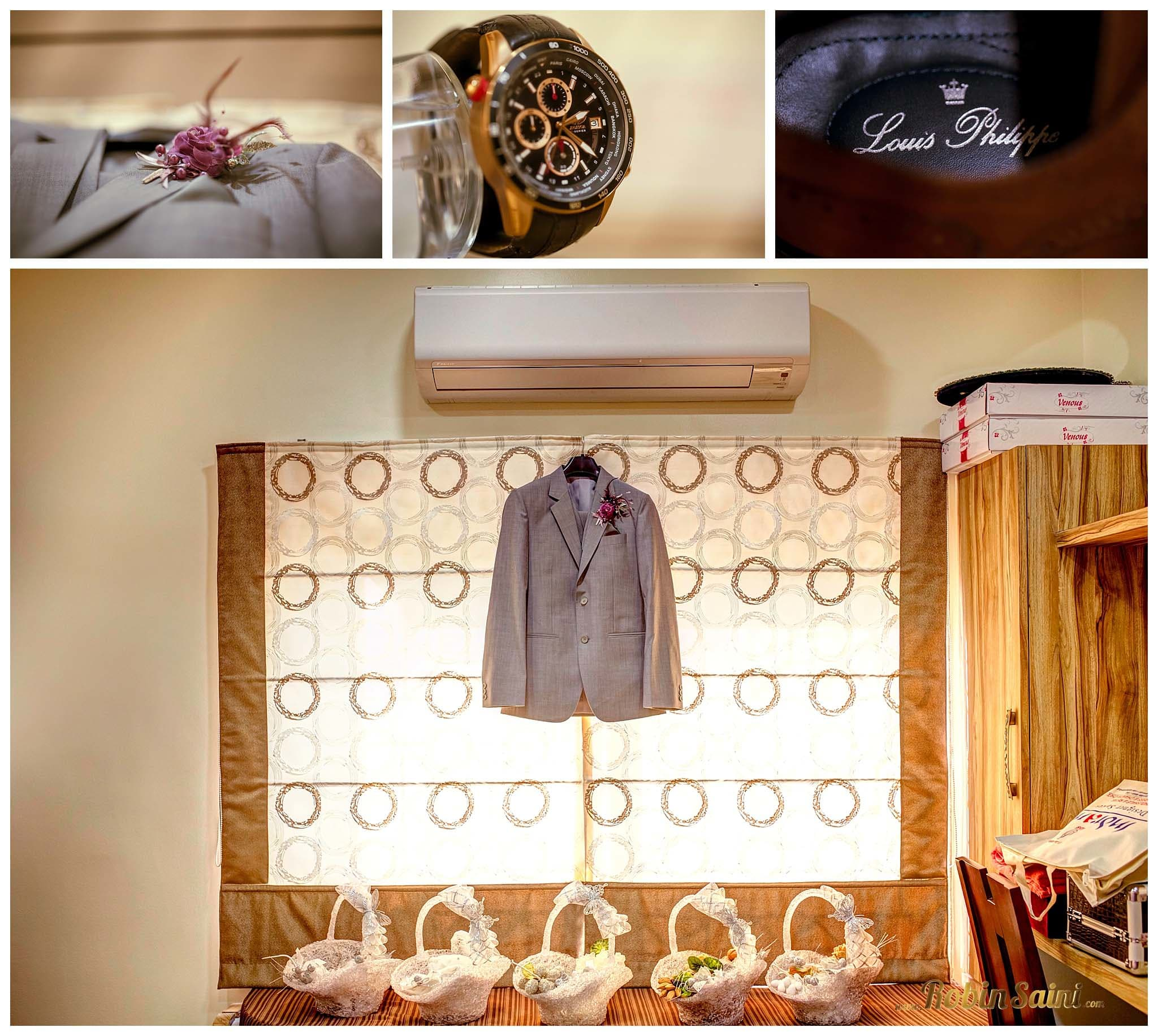 designer groom wear:robin saini photography