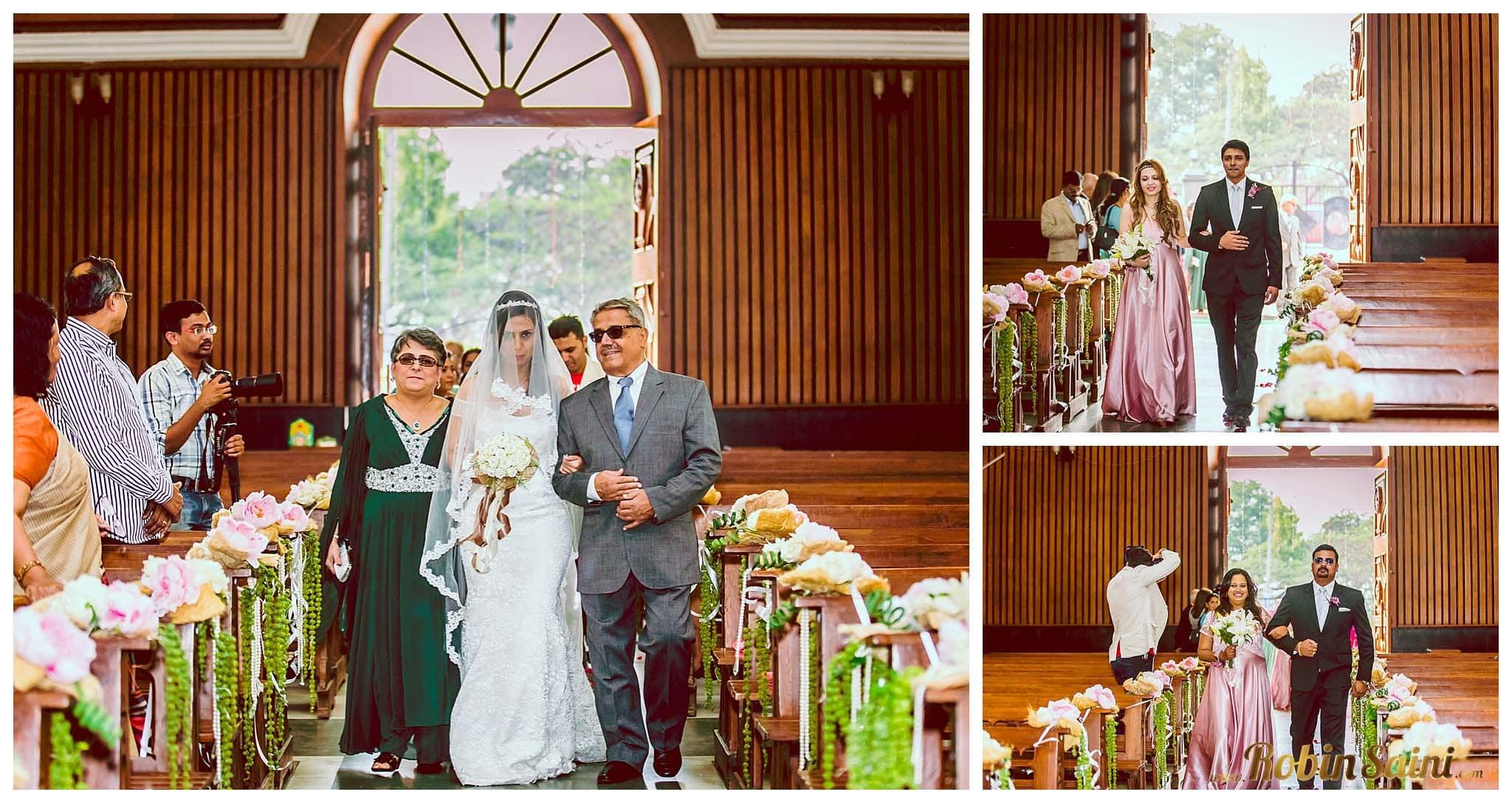 brides entry:robin saini photography